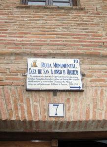 Casa Museo de San Alonso de Orozco en Oropesa