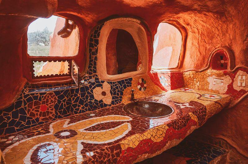 La casa terracota cerámica de barro
