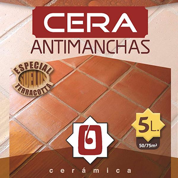 Cera Antimanchas Cerámica Oropesa