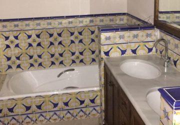 La decoración rústica es tendencia en baños y cocinas