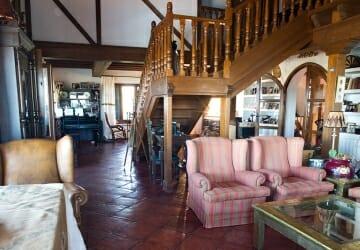 Casas de campo, decoración rústica y ahorro energético